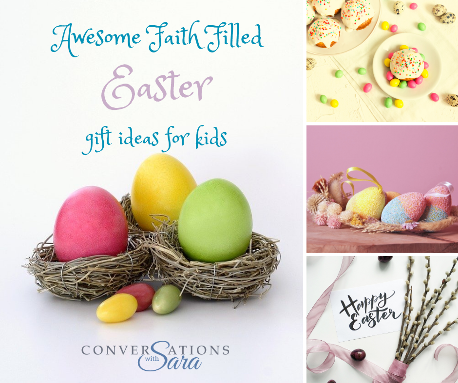 Faith Easter Ideas for Kids, christian gifts for easter